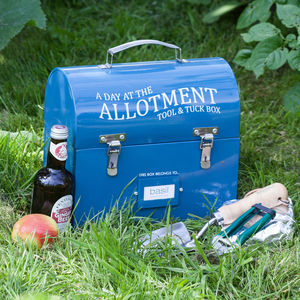 Gardener's Tool And Tuck Box - garden