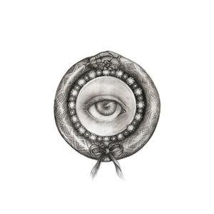 Lover's Eye Giclée Print