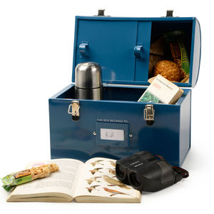 Birdwatcher's Tuck Tin - lunch boxes & bags