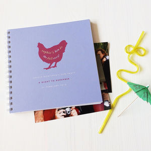 Personalised Hen Party Keepsake Album - hen party styling