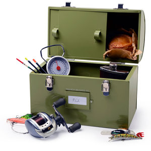Fisherman's Tackle And Tuck Box - outdoor living