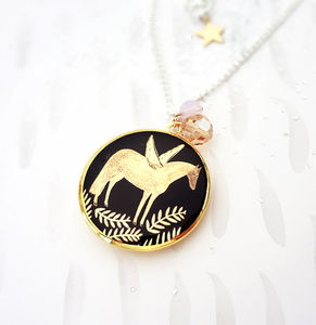 Pegasus Locket Necklace