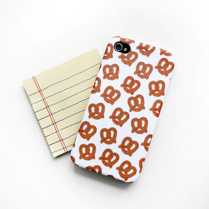 Pretzel iPhone Case