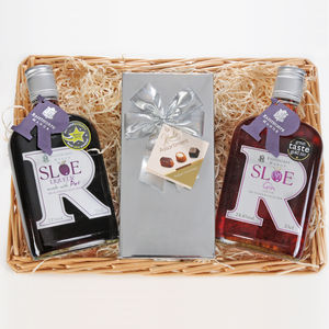 Sloe Gin And Sloe Port Hamper - for foodies