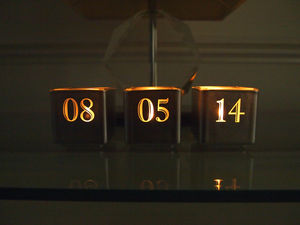 Personalised Date Tealight Candle Holder Set - lighting