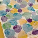 Handmade Leaf Paper - Purple/Yellow/Blue/Green