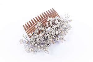 Rose Filigree Comb - womens