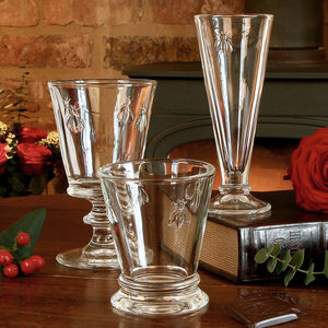 Luxury Honey Bee Flute, Wine Glass And Tumbler - glassware