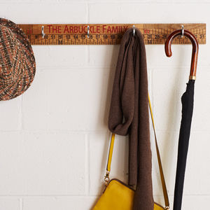 Ruler Coat Hook