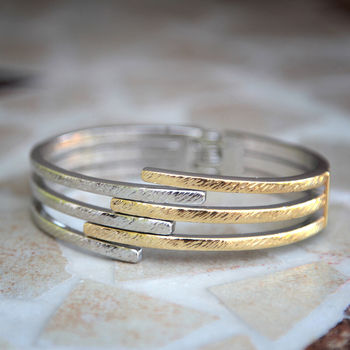 Electric Metal Bangle