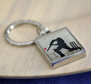 Cricket Keyring