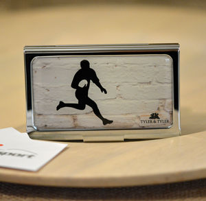 Rugby Business Card Case