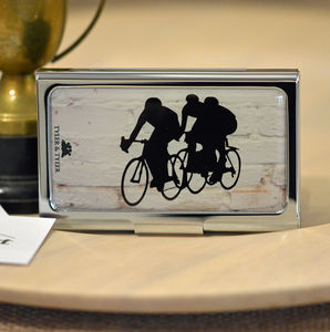 Cyclist Business Card Case - wallets & money clips