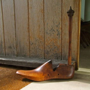 Vintage Shoe Last Door Stop - door stops & draught excluders