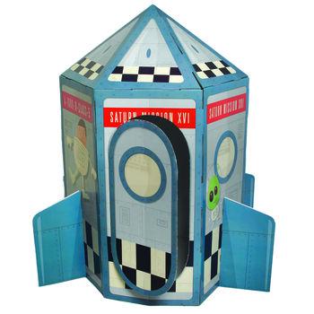 Rocket Cardboard Playhouse