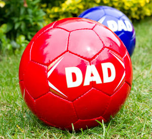 Daddy's Football