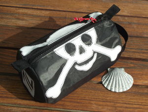 Pirate Sailcloth Washbag - wash & toiletry bags