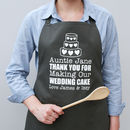 Personalised Wedding Cake Apron