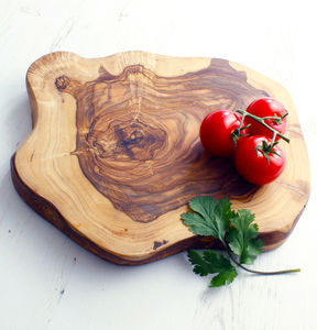 Rustic Round Chopping Or Serving Board - cooking & food preparation