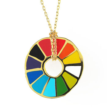 Colour Wheel Pendant