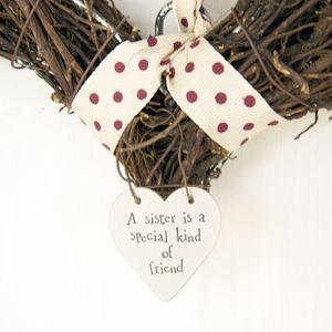 Sister Decorative Wreath