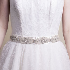 Handmade Carina One Wedding Belt - belts