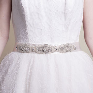 Handmade Carina Two Wedding Belt