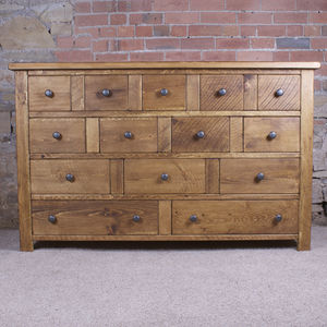 Solid Wood Chest Of Drawers - bedroom