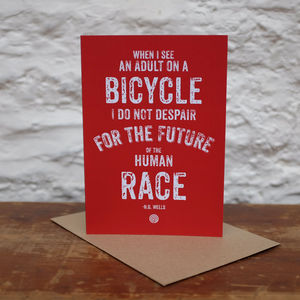 'Human Race' Greetings Card - all purpose cards, postcards & notelets