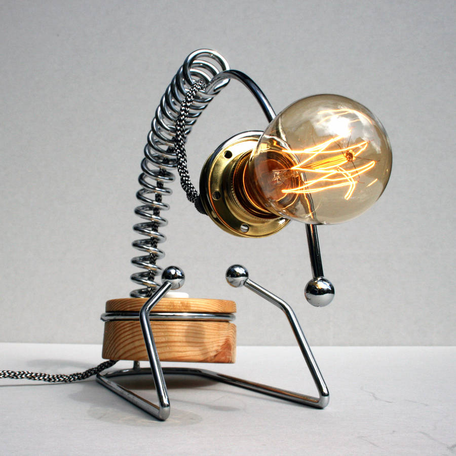 contemporary edison desk lamp by unique's co. | notonthehighstreet.com