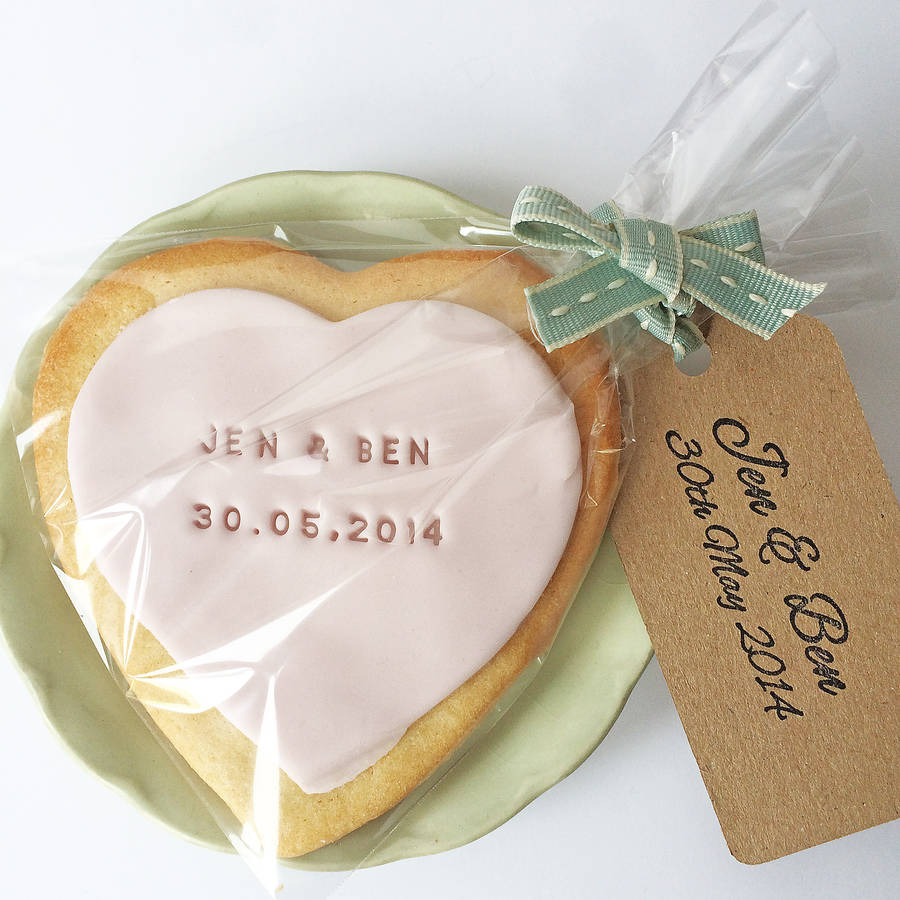Small Gifts For Wedding Guests: Make Your Own Edible Wedding Favours Kit By Stomp Stamps