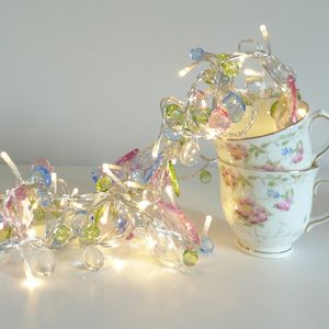 Bohemia Crystal Fairy Light Garland - lighting