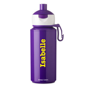 Personalised Pop Up Drinking Bottle