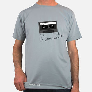 Personalised Cassette T Shirt - t-shirts & vests