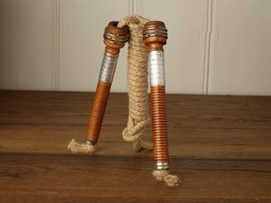 Bobbin Handle Skipping Rope