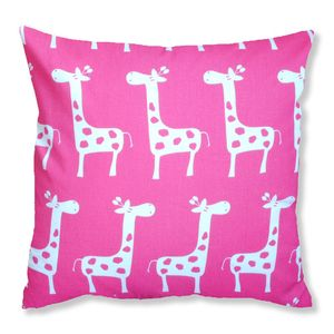 Retro Giraffe Cushion - cushions