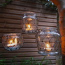 Three Wire Net Tealight Holders