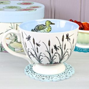 Duck Tales In A Teacup - cups & saucers