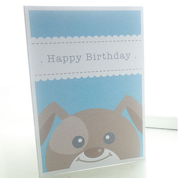 Personalised Dog Birthday Card