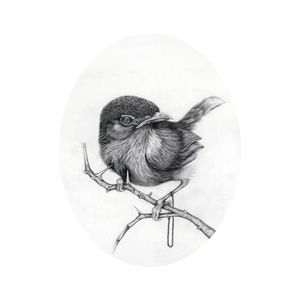 Nightingale Giclée Print - home accessories