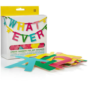Personalised Letter Bunting - bunting & garlands