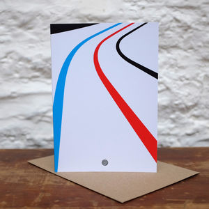 'Velo' Greetings Card