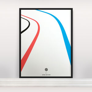 'Velo' Open Edition Screen Print - modern & abstract
