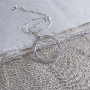 Circle Family Necklace