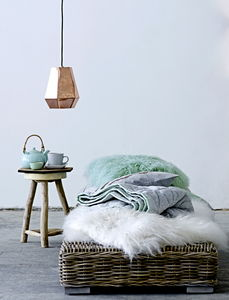 Copper Or Brass Pendant Light - living room