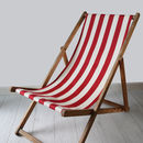 Stripy Vintage Deck Chair