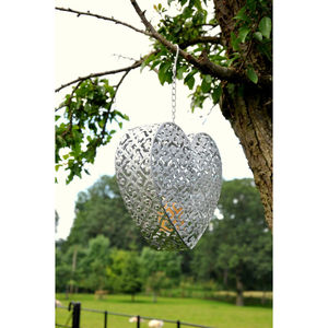 Hanging Heart Candleholder - candles & candlesticks