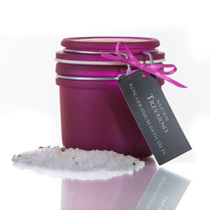 Rose Geranium Bath Salts