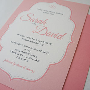 'Jersey' Wedding Stationery Collection - parties