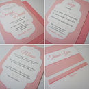 'Jersey' Wedding Stationery Collection